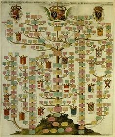 Beautiful family tree chart