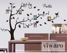Amazing Details zu wd Baum Wandaufkleber Wandsticker Dekoration Wandtattoo Bilderrahmen Fotos