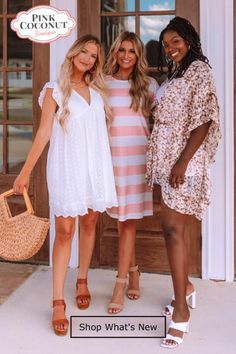Looking for this Summer's Hottest Styles? Spring Summer Fashion, Spring Outfits, Cute Preppy Outfits, Lover Dress, Texas Fashion, Brunch Outfit, Romper With Skirt, Dressy Dresses, Fashion Websites