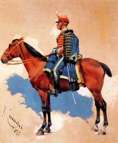 josep cusachs pintor - Buscar con Google Samurai, War, Horses, Drawings, Hungary, Spanish, Google, Manish, Men Fashion