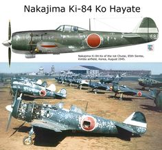Nakajima Ki-84Ko Hayate