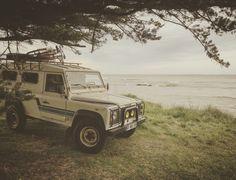Land Rover en Road trip