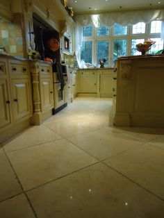 Limestone kitchen floor cleaner Cobham Surrey