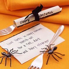 Halloween party | Creepy Fortune Scrolls | AllYou.com #CelebrateHalloween