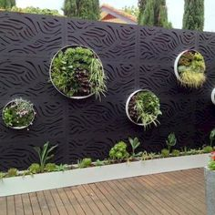 Incredible backyard patio garden privacy screen ideas (24)