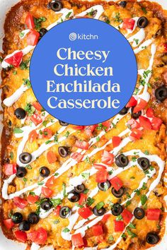 Enchilada Casserole Beef, Enchilada Recipes, Casserole Recipes, Mexican Dishes, Mexican Food Recipes, Cheesy Chicken Enchiladas, Cooking With Beer, Comida Latina, Food Dishes