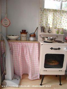 Playhouse Kitchen