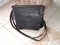 BREE Handtasche, Schultertasche, Leder, schwarzsparen25.com , sparen25.de , sparen25.info