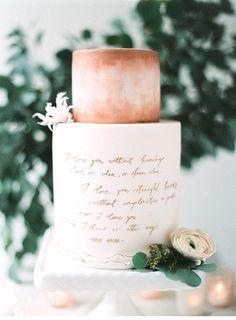 20 Creative and Colorful Wedding Cakes We Adore - MODwedding