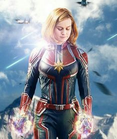 Academy Award winner Brie Larson will play Captain Marvel in the upcoming Marvel Studios movie hitting theaters in March 2019 Marvel Comics, Ms Marvel, Marvel Avengers, Marvel Fanart, Heros Comics, Marvel Cosplay, Marvel Heroes, Marvel Women, Avengers Movies
