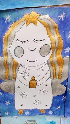 Advent, Art Lessons Elementary, Teaching Art, Little Sisters, Fun Activities, Art For Kids, Diy And Crafts, Art Drawings, Kindergarten
