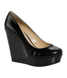 Available at Dillards.com, alwways wanted a pair of plain black wedges