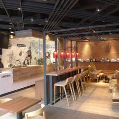 Scottish cafe in Chongqing, Kinloch Cafe by RED Design Consultants- Shanghai and Bangkok Red Design, Cafe Design, Interior Design, How To Store Bread, Dog Cafe, Innovation Centre, Retail Space, Design Consultant, Shanghai