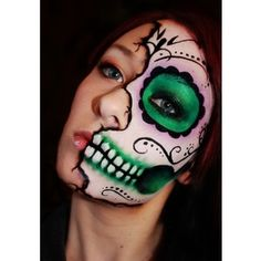 47 Best Day Of The Dead Face Painting Images Artistic Make Up