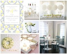 ideas for a sip see party the party dress sophisticated baby shower centerpieces Grey Baby Shower, White Shower, Baby Shower Centerpieces, Baby Shower Decorations, Sophisticated Baby Shower, Wanting A Baby, Sip And See, Adoption Party, Baby Friends
