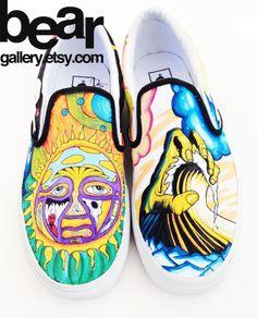 Custom Vans Sublime by beargallery on Etsy, $155.00