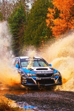 Subie on a rally adventure. Subaru Impreza, Wrc Subaru, Subaru Rally, Autos Rally, Rally Car, Nascar, Sport Cars, Race Cars, Rallye Wrc