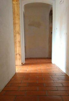 Stara podłoga z cegły - Terakota Gotycka
