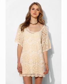 Crochetemoda: Vestido de Croche