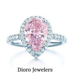 Pink. Diamonds. Oh. Yes. // @diorojewelers