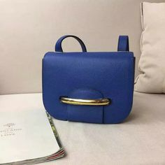 2017 Spring Mulberry Small Selwood Satchel Bag Porcelain Blue Small Classic Grain Leather