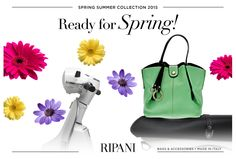 Spring Summer Collection 2015 - model FELICITÀ #feedyourstyle #ripanibags #fashionable #handbags #bags #Primavera