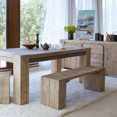 Samson Reclaimed Wood Large Coffee Table | Sideboards | Dining Room