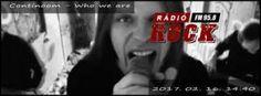 Who we are - A Rádió Rock (95.8FM)-en debütál az új Continoom sláger
