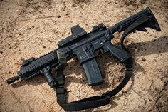 HK416-rifle of choice for the Navy SEALs