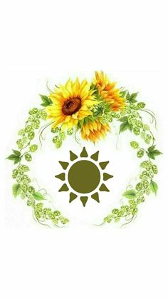 Instagram Highlight Icons, Sunflowers, Paper Flowers, Instagram Story, Technology, Tattoos, Watercolor Sunflower, Yellow Sunflower, Sunflower Wallpaper