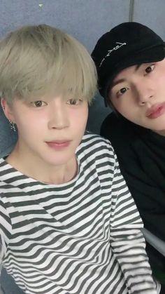 Jimin & Jin Twitter update 16.10.2