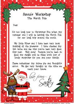 - A fabulous keepsake Christmas letter from Santa with a seasonal design. Watch the Magic of Christmas begin when yo. Christmas Letter From Santa, Christmas Card Verses, Christmas Letter Template, Diy Christmas Gifts For Friends, Merry Christmas Baby, Christmas Activities For Kids, Christmas Books, Christmas Printables, Christmas Time