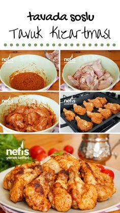 Tavada Soslu Tavuk Kızartması (videolu) – Nefis Yemek Tarifleri – Tavuk tarifleri – The Most Practical and Easy Recipes Turkish Recipes, Italian Recipes, Turkish Sweets, Pan Fried Chicken, Iftar, Best Appetizers, Turkish Kitchen, Bagels, Beautiful Cakes