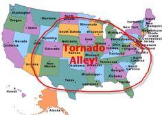Tornado Risk Report Reveals Tornado Alley Could Cover All States East of The Rockies Map Geo, Tornado Damage, Tornado Alley, Home Safety, Rhode Island, Nebraska, Wyoming, Nevada