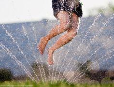 Sprinklers in the Summer!!!