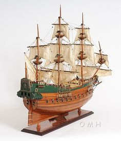 """CaptJimsCargo - Batavia Dutch East Indies Wood Replica Model Ship 37"""", (http://www.captjimscargo.com/model-tall-ships/merchant-ships/batavia-dutch-east-indies-wood-replica-model-ship-37/) This highly detailed, expert level, Batavia Dutch East Indies ship model is fully assembled and ready for display (not a kit)."""