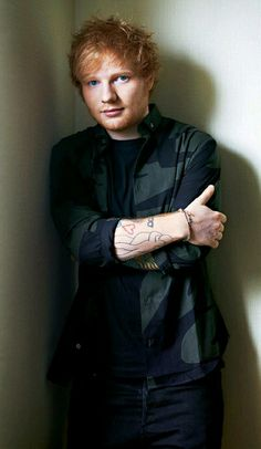 Ed Sheeran I❤️gingers :) He's such a sweet guy!! Plus his music has so much…