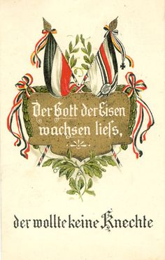 Ernst Moritz Arndt. Der Gott der Eisen wachsen ließ ... Sächsische Verlagsanstalt, Dresden Ernst Moritz Arndt, Flag Art, World War One, Art Reference, Wwii, Illustration, Pin Up, Germany, Christmas Ornaments