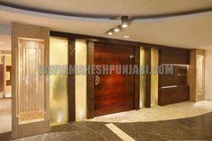 Khar Gym Khana banquet hall main entrance #maheshpunjabiassociates #interiorupdates #interiortrends #interiordesign #mumbai #interior #khargymkhana #entrance