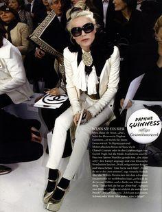 daphne guiness editorial | daphne guinness empresta um anel? «
