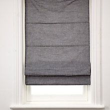 Buy House by John Lewis Chambray Roman Blinds Online at johnlewis.com