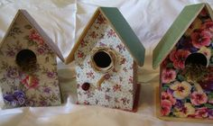 Casinha de Passarinho (5) Bird, Outdoor Decor, House, Home Decor, Houses, Homemade Home Decor, Home, Haus, Birds