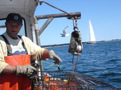 A day on the water with a Maine lobstermen off the rockbound coast near Stonington, Maine.
