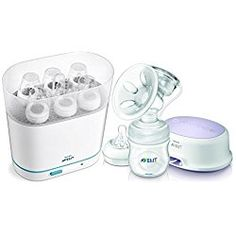 Philips AVENT Single Electric Comfort Breast Pump with Steam Sterilizer