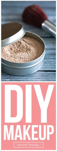 DIY makeup to keep your skin healthy!