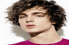 Men's Curly Hairstyles 2012