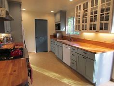 """""""Designer did a great job, we are very happy customers"""" View kitchen remodel project photos. White Cabinets, Kitchen Cabinets, Custom Cabinets, Kitchen Remodel, Counter, House Ideas, Design, Home Decor, White Dressers"""