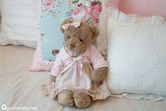 almofadas decorativas bebê floral estilo princesa