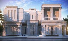UAE Dubai , 2000 m private villa by Sarah sadeq architects