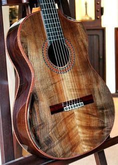 Brazilian Rosewood B, Curly Sinker Redwood top